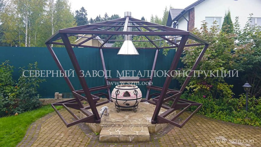 besedka-metall-mangal-vytyazhka-iz-nerzhavejki